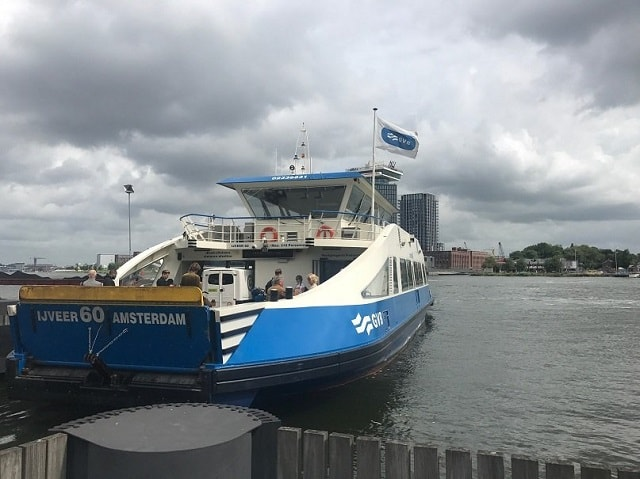 Free summer things to do - Ferry to Amsterdam North