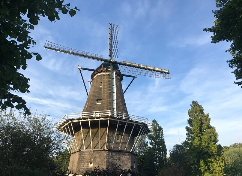 Going Dutch - Windmill the Bloem in Amsterdam West