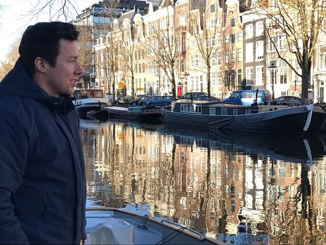 PJ at the Canals of Amsterdam - November 2016