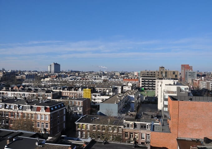 Best view point in Amsterdam East @ Canvas